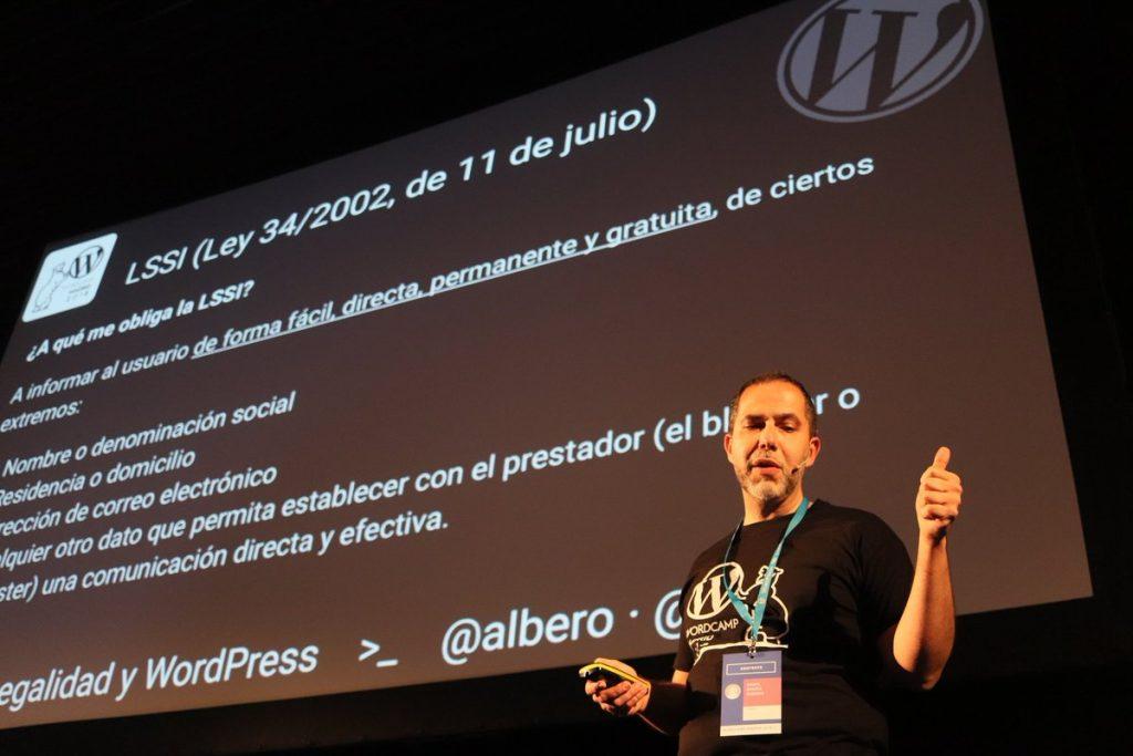 Formación RGPD para expertos en WordPress